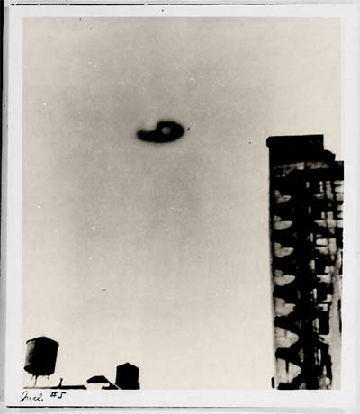UFO photographed over New York City