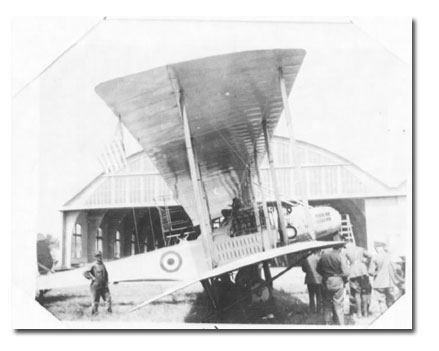 Image of a Biplane from Gorrell's History