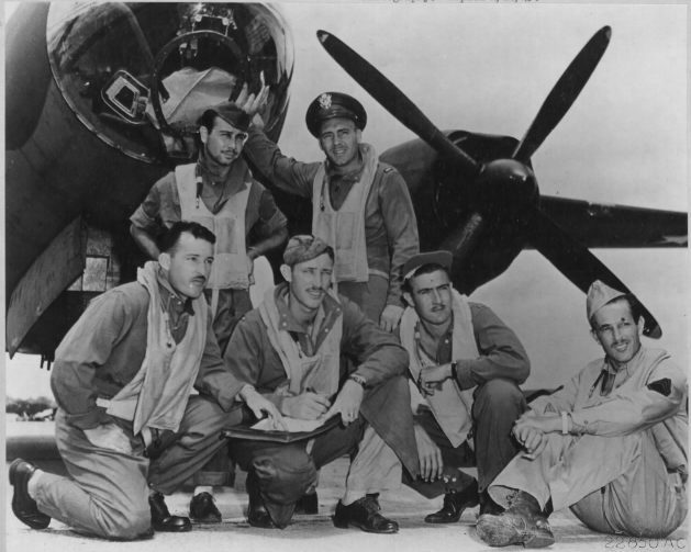 Crew Photo from the WWII Air Force Photos